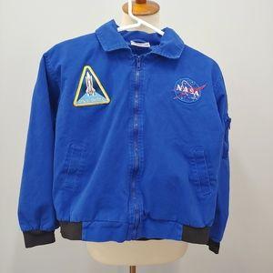 NASA Flight Jacket, Youth, Kid's Size L